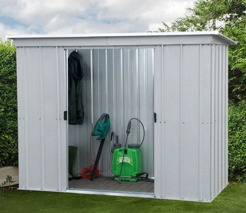 YardMaster Store All 6 x 4 ft Metal Shed Metal shed