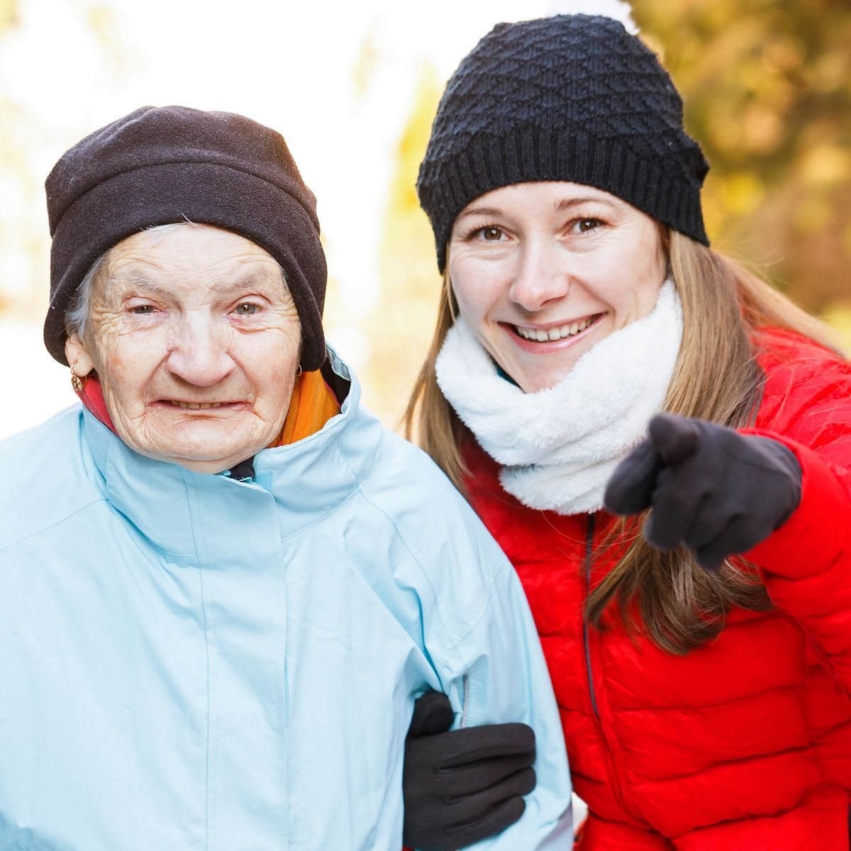 Caregivers energize yourself this winter with some