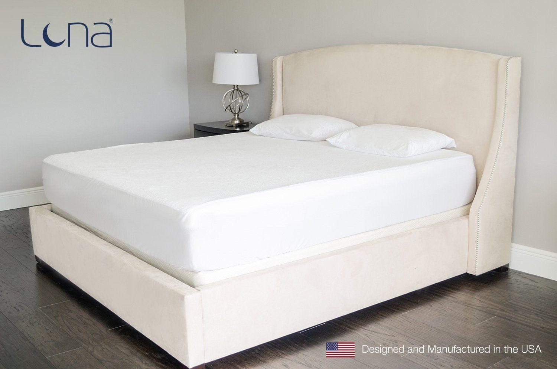 queen size luna premium hypoallergenic 100 waterproof mattress