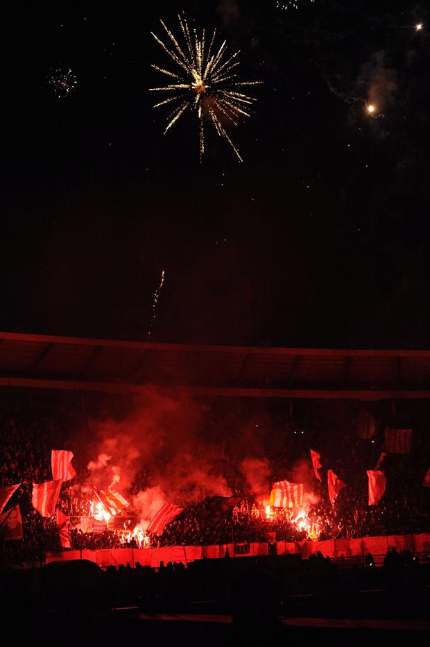 Šampionska noć u crvenobelim motivima Zvezda priredila