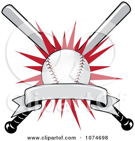 Baseball clip art sports clip art of a baseball bat and ball with baseball clipart baseball batter hitting a ball royalty free vector pronofoot35fo Choice Image