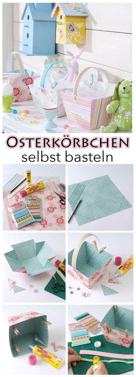 Osterkorb selber basteln | selbst.de