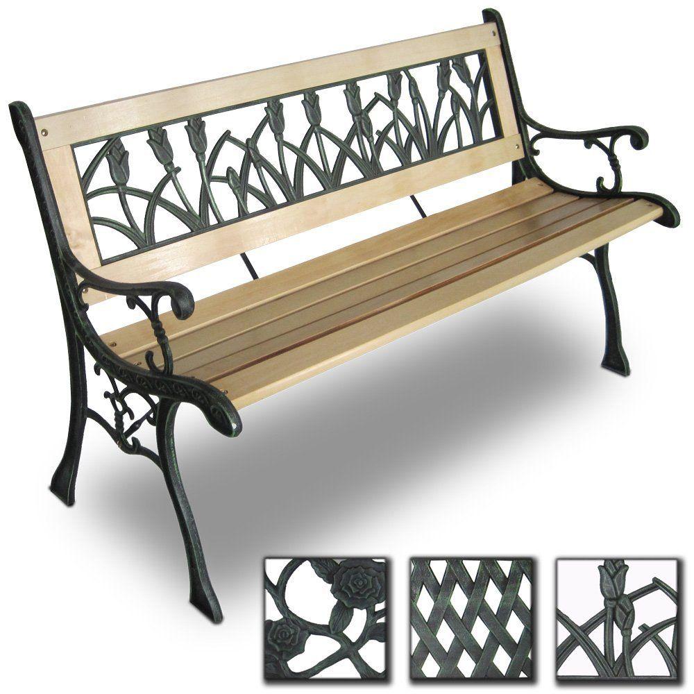 Gartenbänke Metall Und Holz | Metall Gartenbank | Pinterest