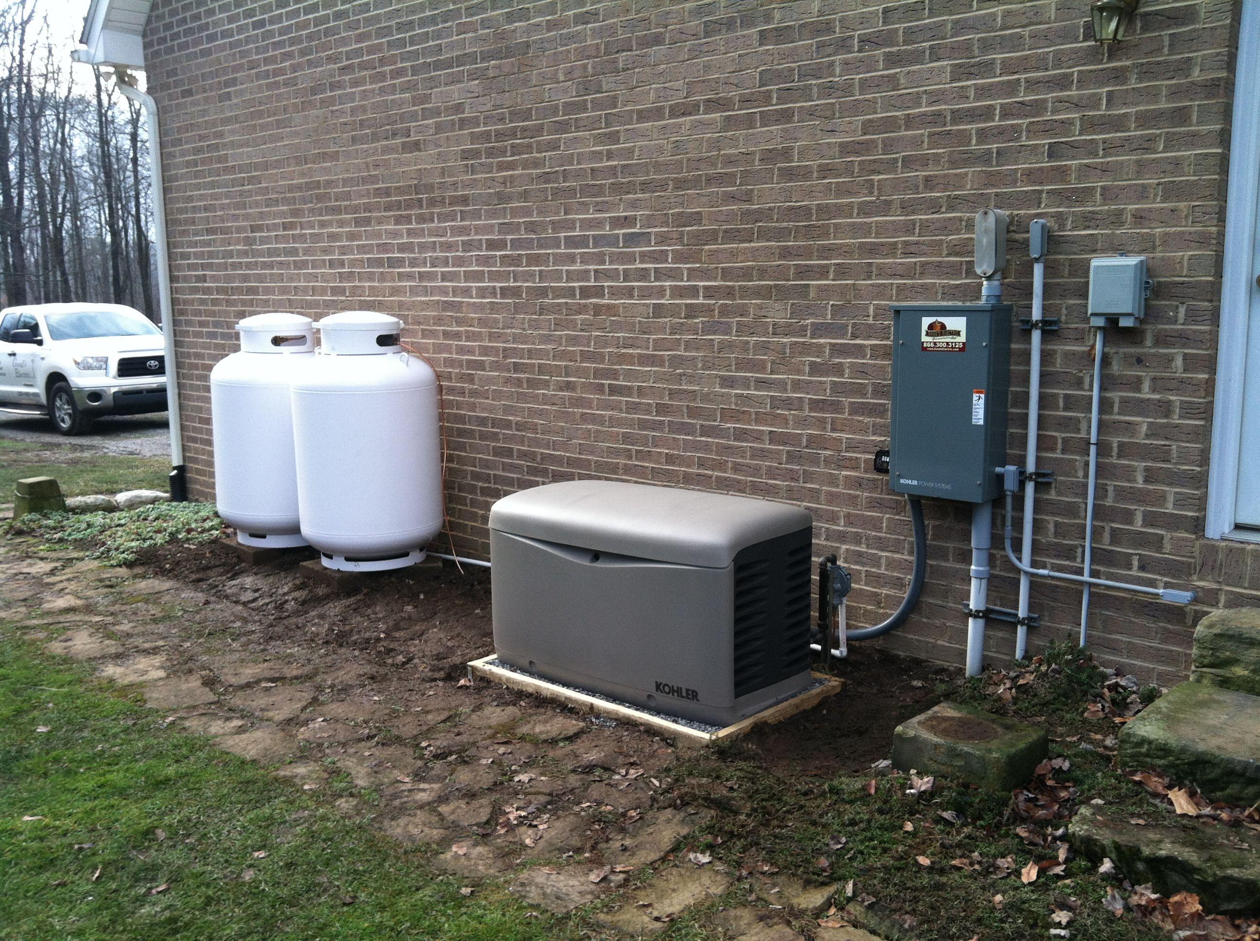 Kohler 20kw Whole House Generator Www Goodselectric Com Whole