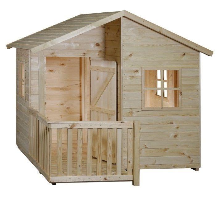 Gartenhäuschen für Kinder Holz Kinderspielhaus MIA 1,8 x