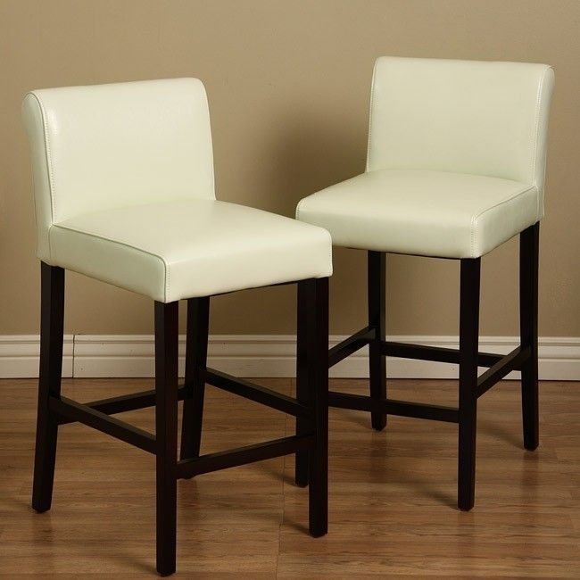 cream leather bar stools  foter  bar stools leather