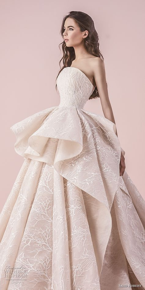 saiid kobeisy 2018 wedding dresses en 2019 | vestidos de novia 9