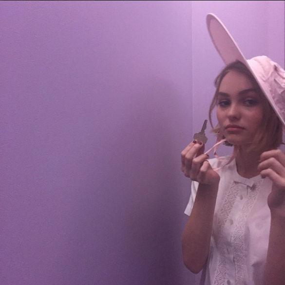 Girl on the Rise: 5 Things to Know About Lily-Rose Depp via @WhoWhatWear