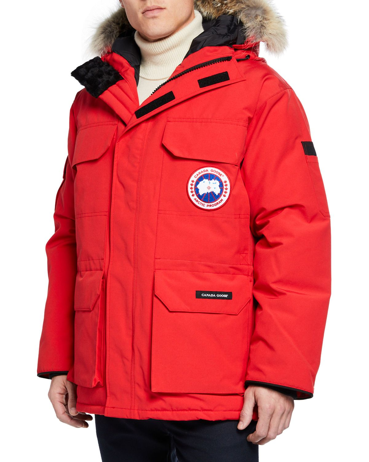 CANADA GOOSE MEN S EXPEDITION FUSION FIT HOODED PARKA COAT.  canadagoose   cloth 5e8cc30fc1