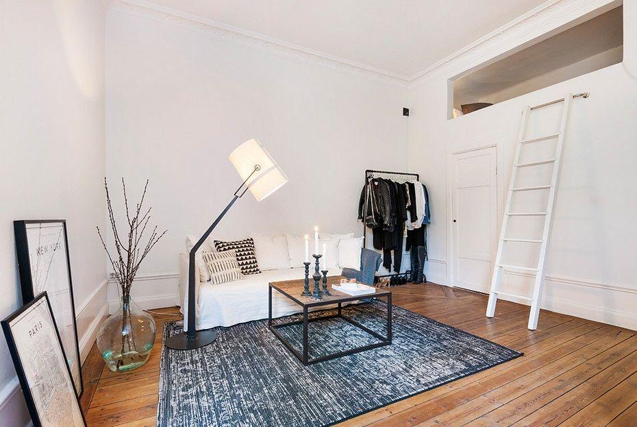 7x Klassiek Interieur : Inspiratieboost: compact wonen met een hoogslaper pinterest