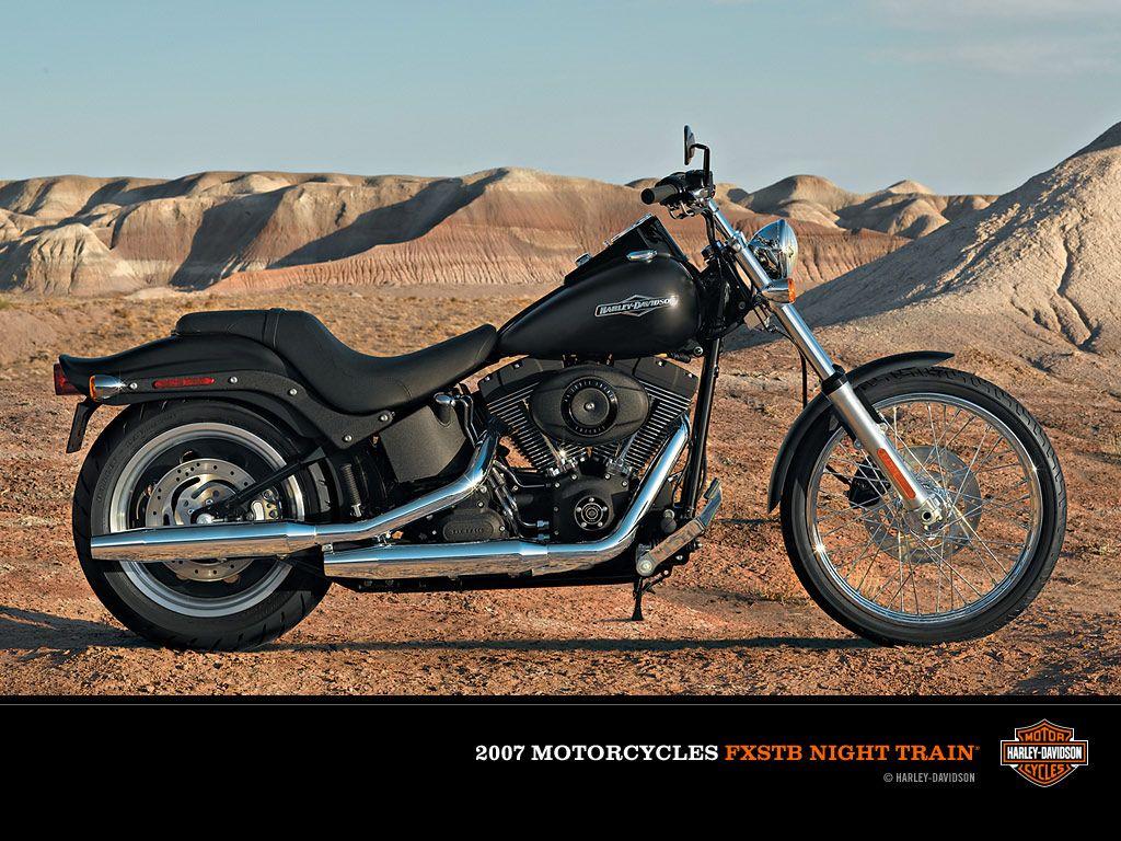 My husband's motorcycle- Harley Davidson Night Train
