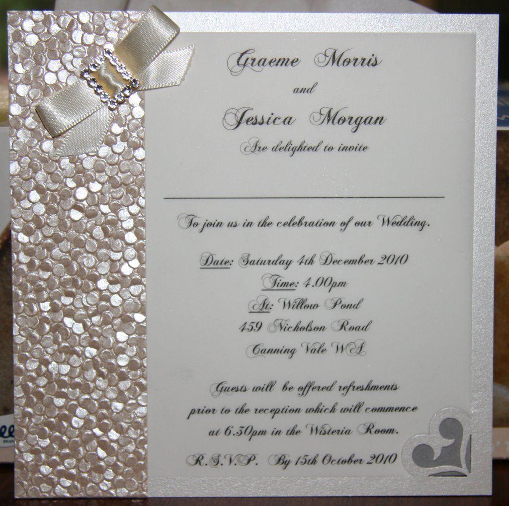 Wedding Invitation - Scrapbook.com | Wedding Daze Fun! | Pinterest ...