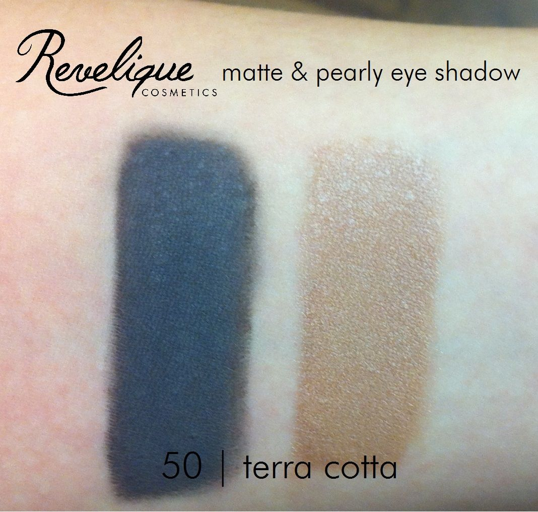 Revelique matte & pearly eyeshadow 50 terra cotta #eyeshadow #mette #pearly #revelique #terracotta