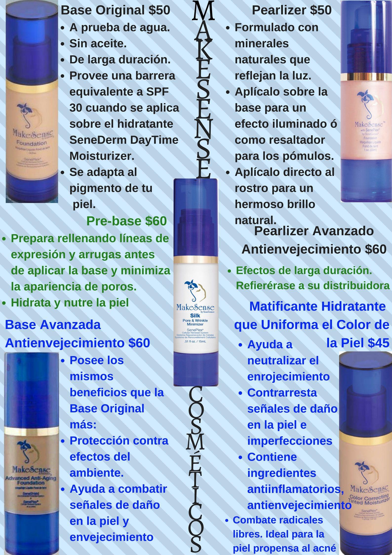 MakeSense Cosmetics in Spanish. Cosmeticos en español   LipSense en ...