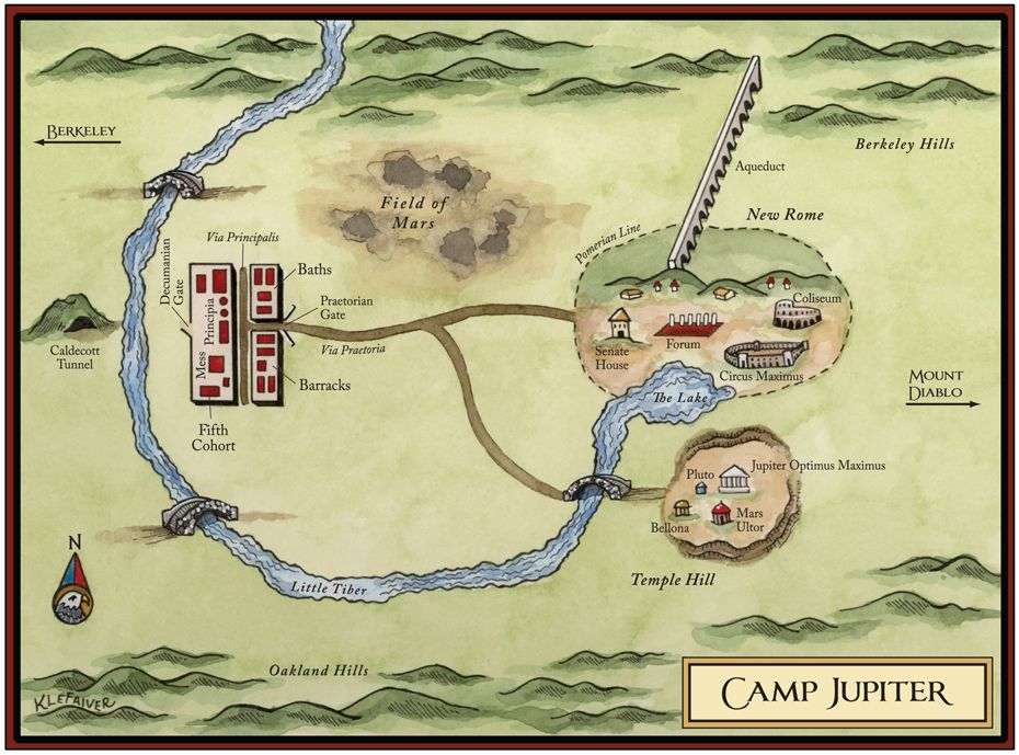 Un mapa del campo de Júpiter - Rick Riordan