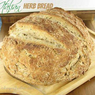 Crusty Italian Bread | Recipe | Italian bread recipes ...