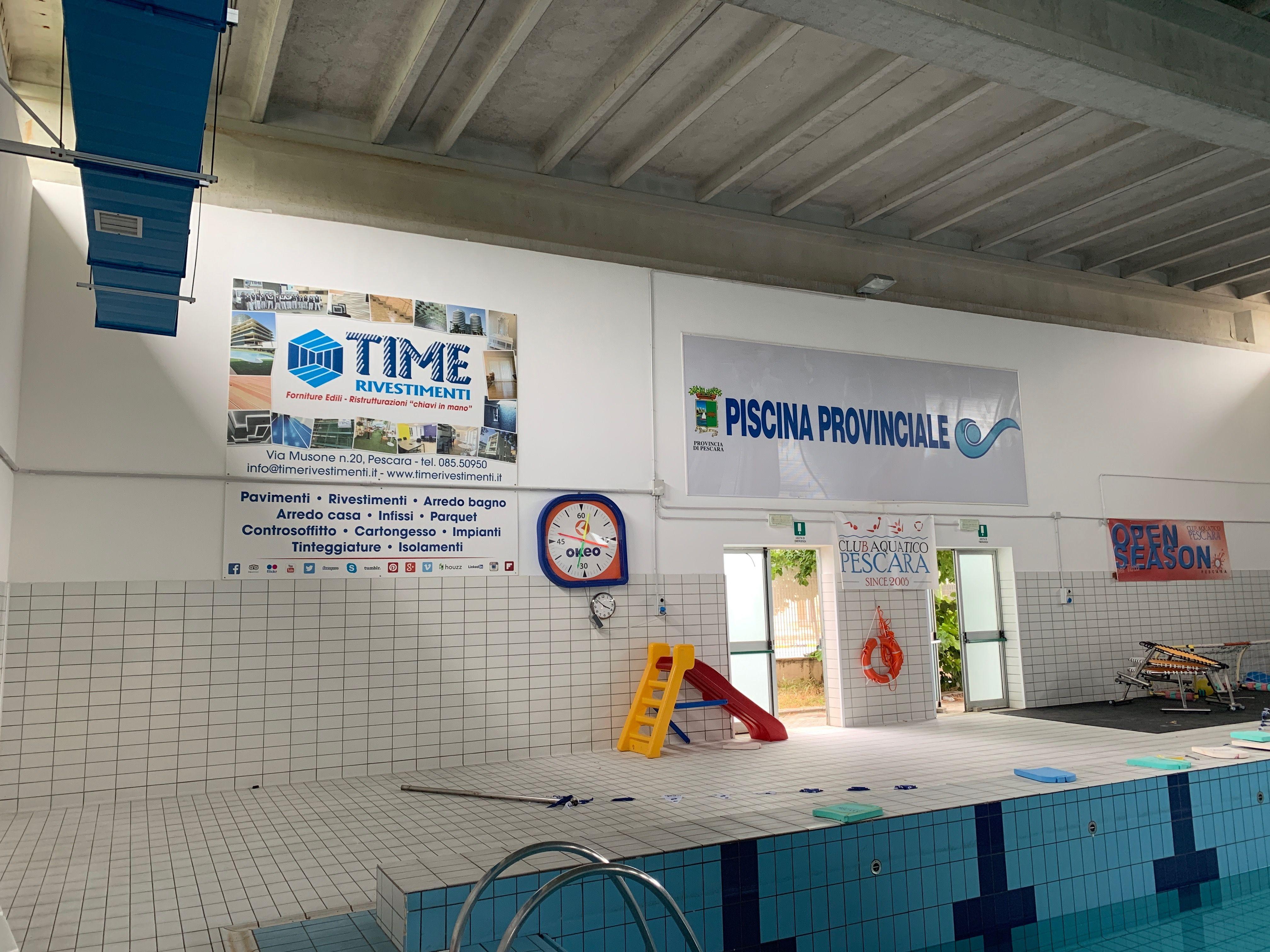 Piscina Provinciale Pescara, work in progress! Time ...