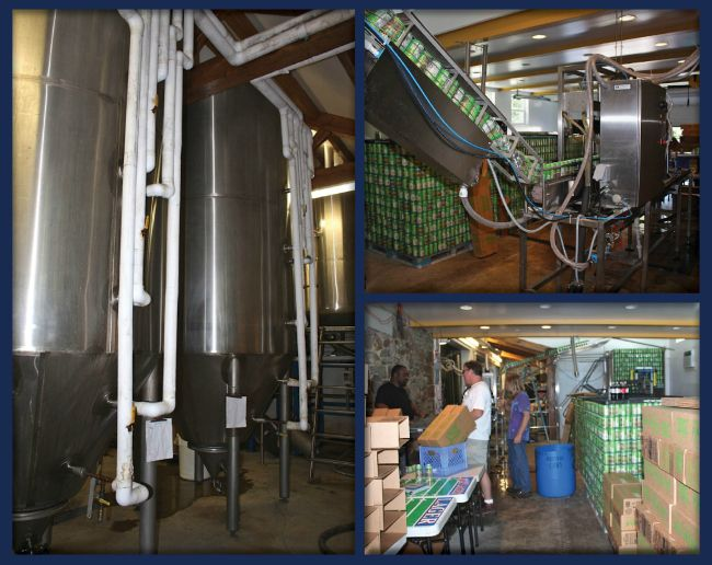 from my blog - Twin Lakes Brewery
