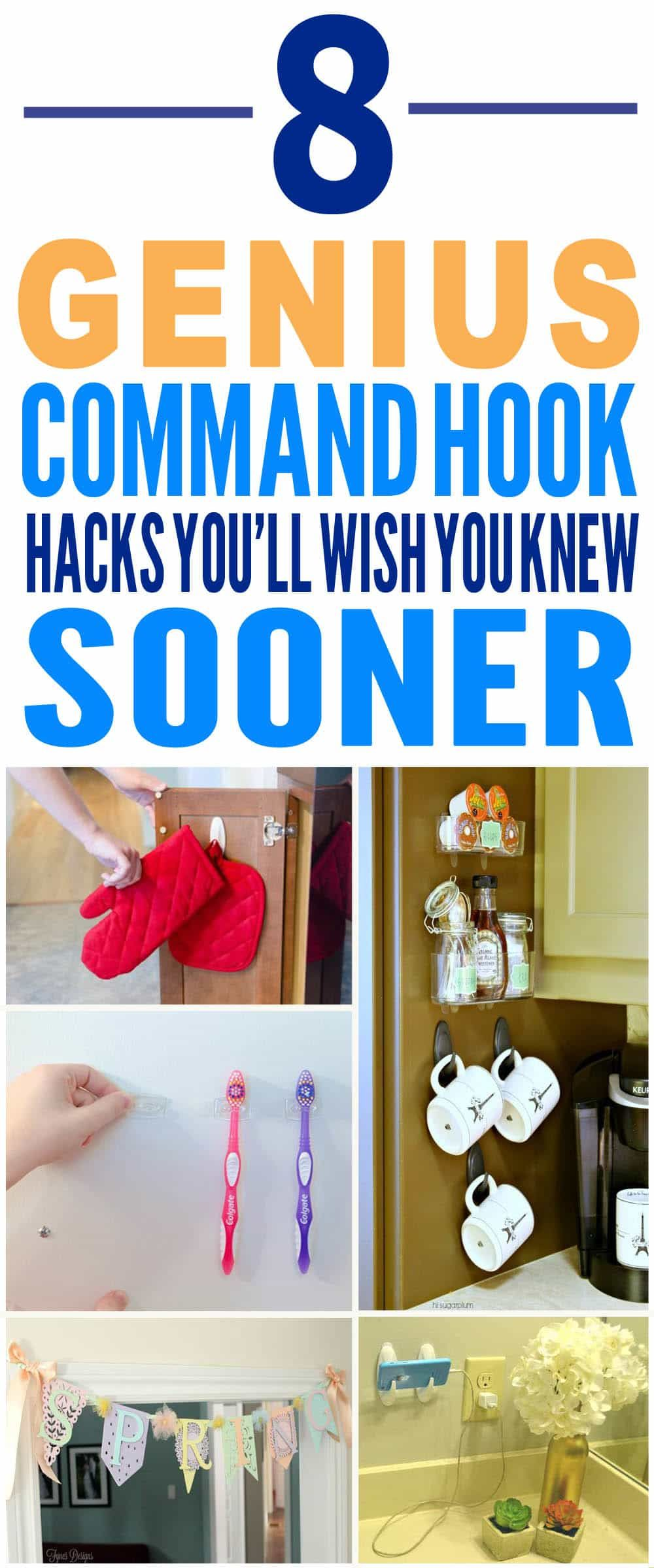 These are just the BEST command hook hacks I've ever seen ...