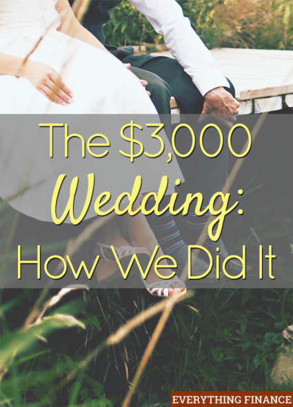The 3 000 Wedding How We Did It Frugal Living Pinterest