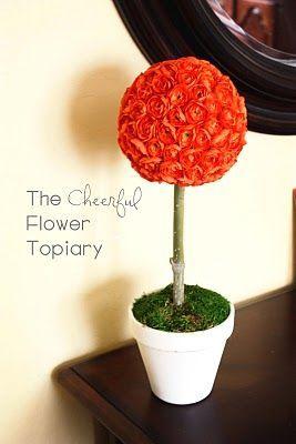 Diy cheerful flower topiary 1010 way fun way cute way cheap diy cheerful flower topiary 1010 way fun way cute way cheap relative mightylinksfo