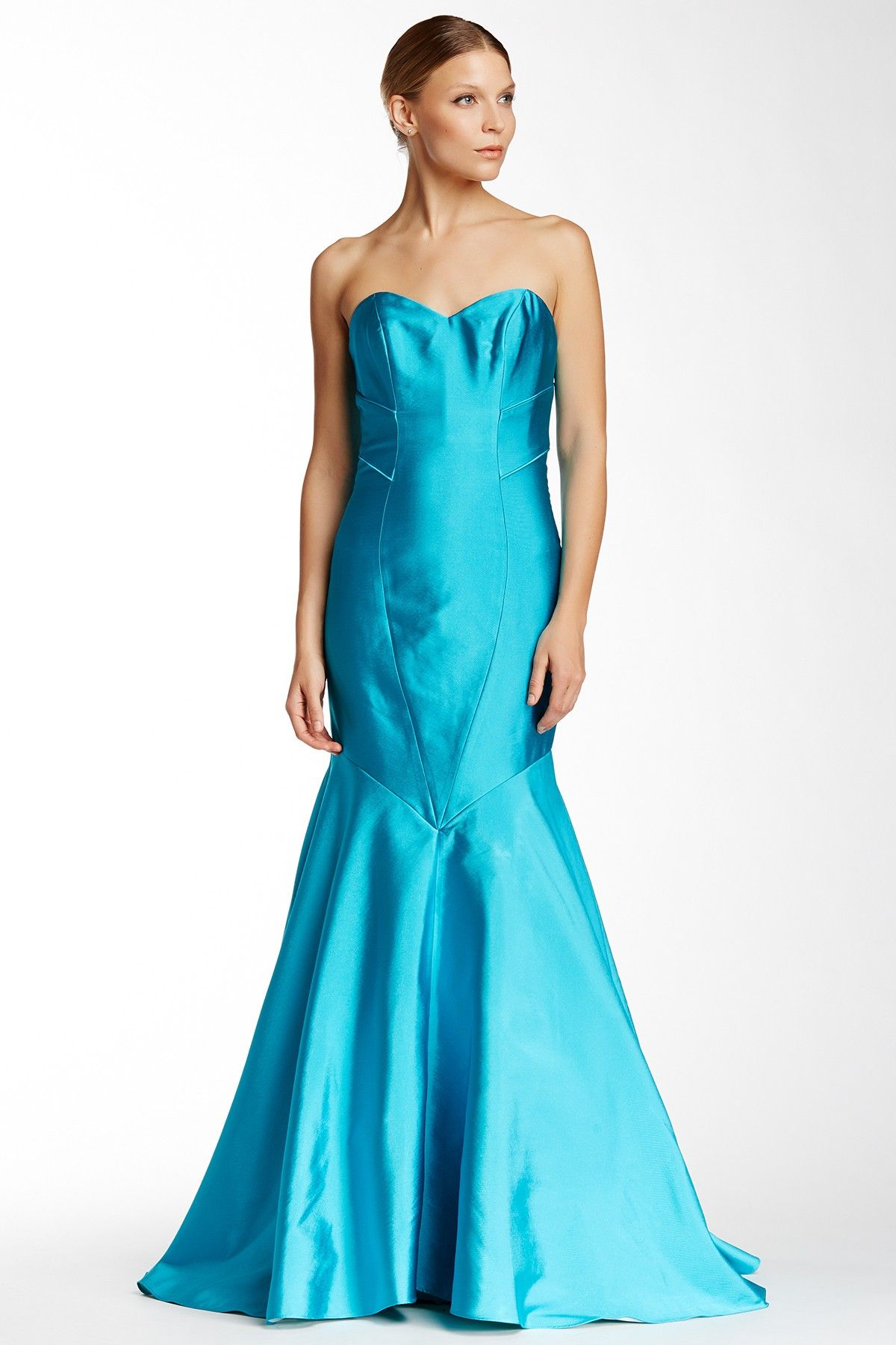 Sweetheart Evening Dress by Theia on @HauteLook | Unconventional ...