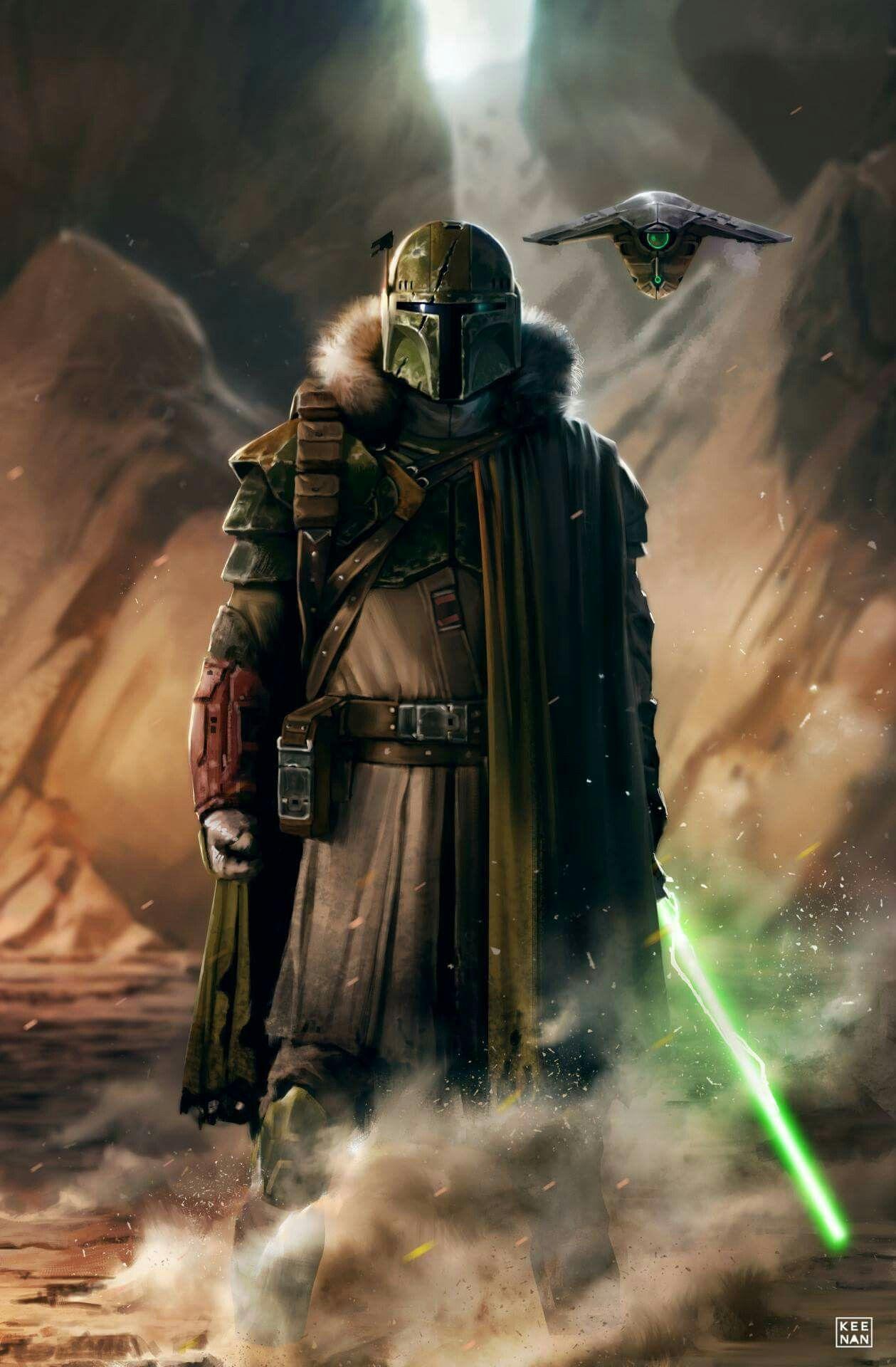 Stronox Custom Figures: Star Wars: Mandalorian Jedi Hunter