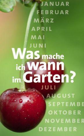 Gartenkalender: Was mache ich wann im Garten?