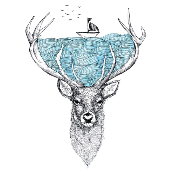 Cervo Alfred Basha Coisas Para Desenhar Artes Desenhos E Arte