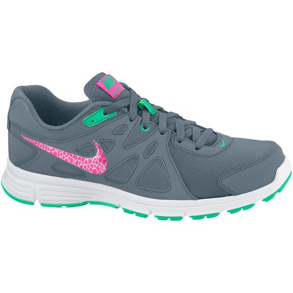 Nike Revolution 2 Womens Running Shoes in Wide Width ($55) ❤ liked on  Polyvore