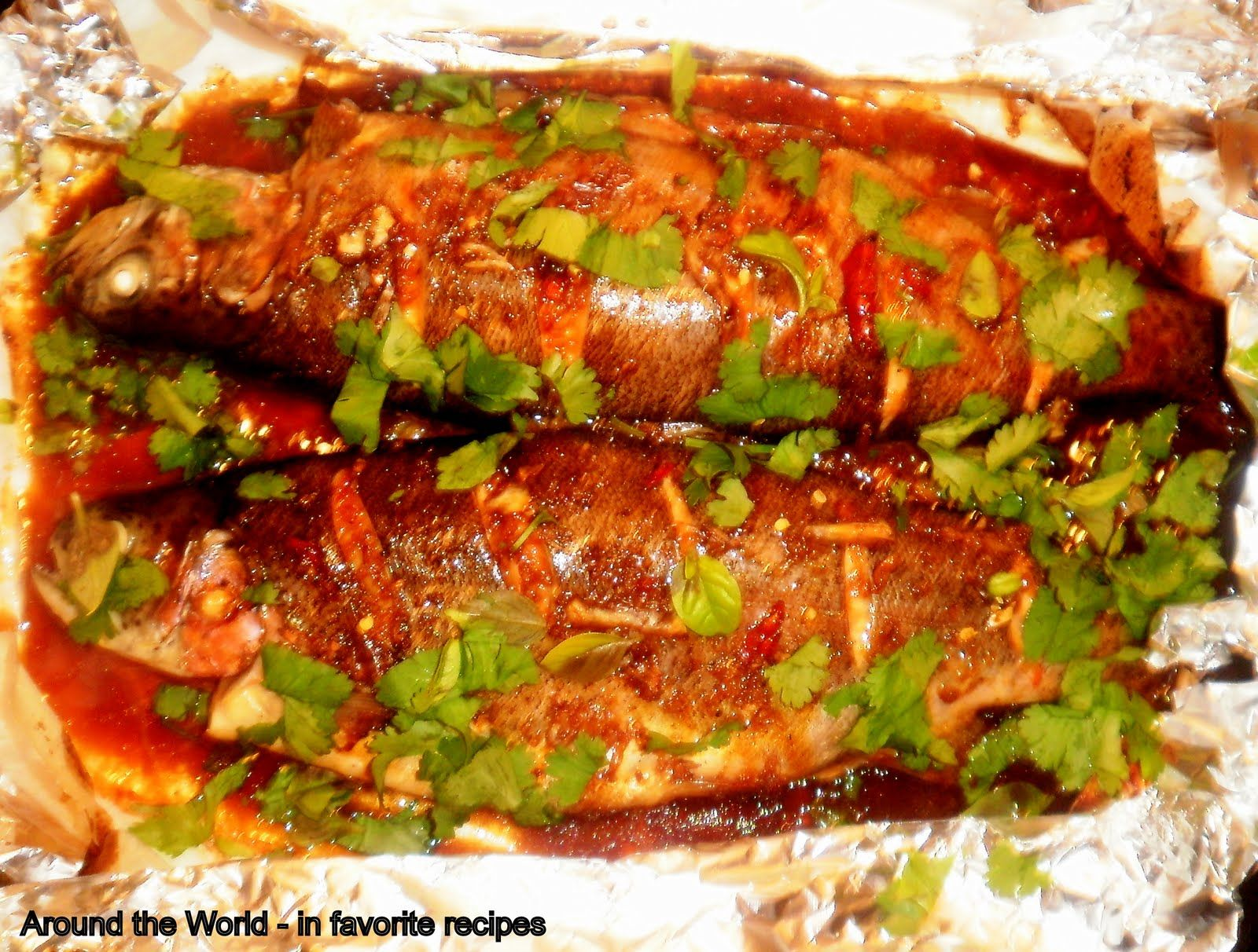 Thai style rainbow trout trout pinterest trout thai style and food thai style rainbow trout forumfinder Gallery