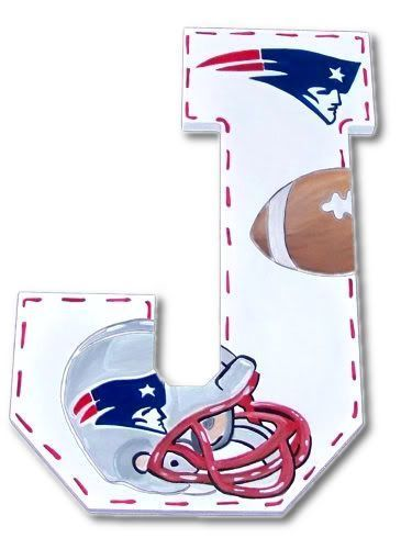 NE Patriots Hand Painted Wall Letters