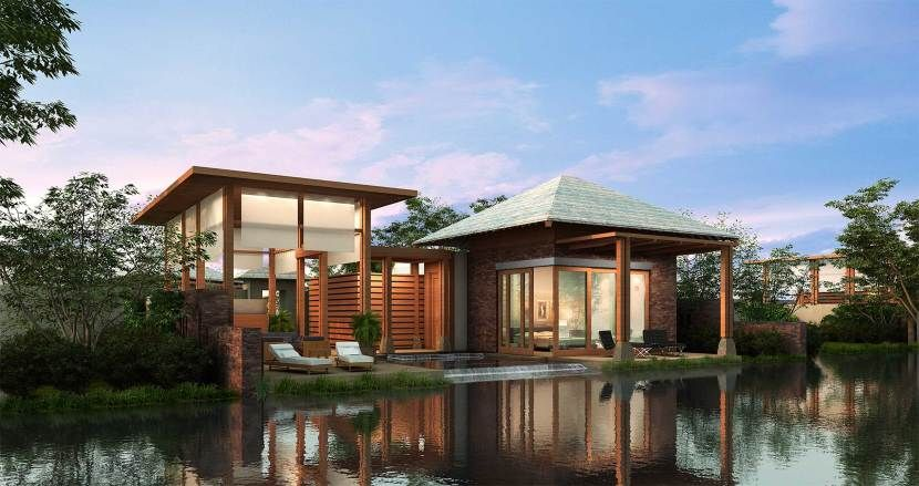 Exterior  Beautiful Modern Tropical Home Designs Beautiful Brown Wood Glass  Modern Rustic Design Luxury Tropical. Exterior  Beautiful Modern Tropical Home Designs Beautiful Brown