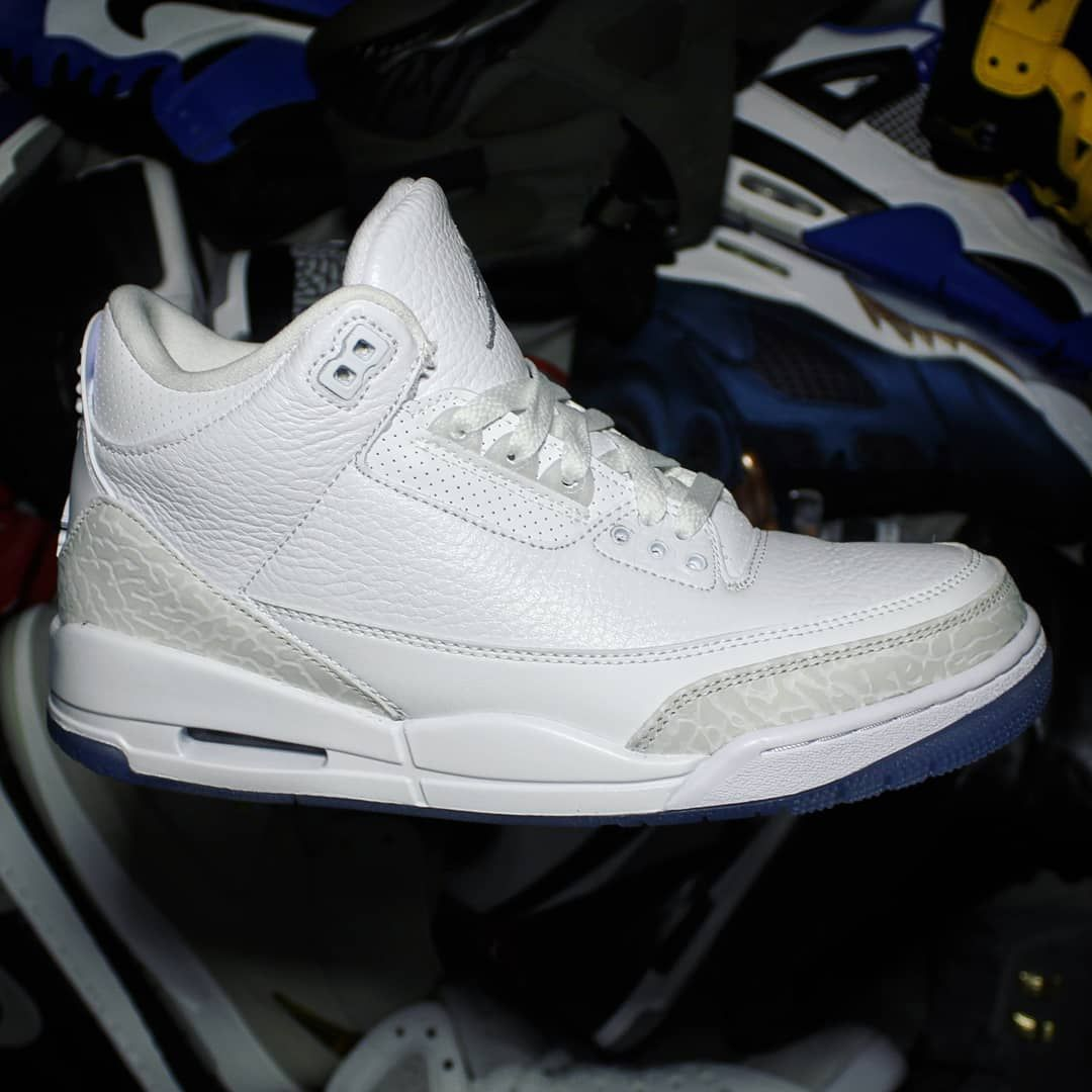 2e0bfb130f8633 COP🔥or DROP🗑   CommentTag a friend who will copGo check out my Air Jordan  3 Retro Pure White on feet video.Quick link in bio.