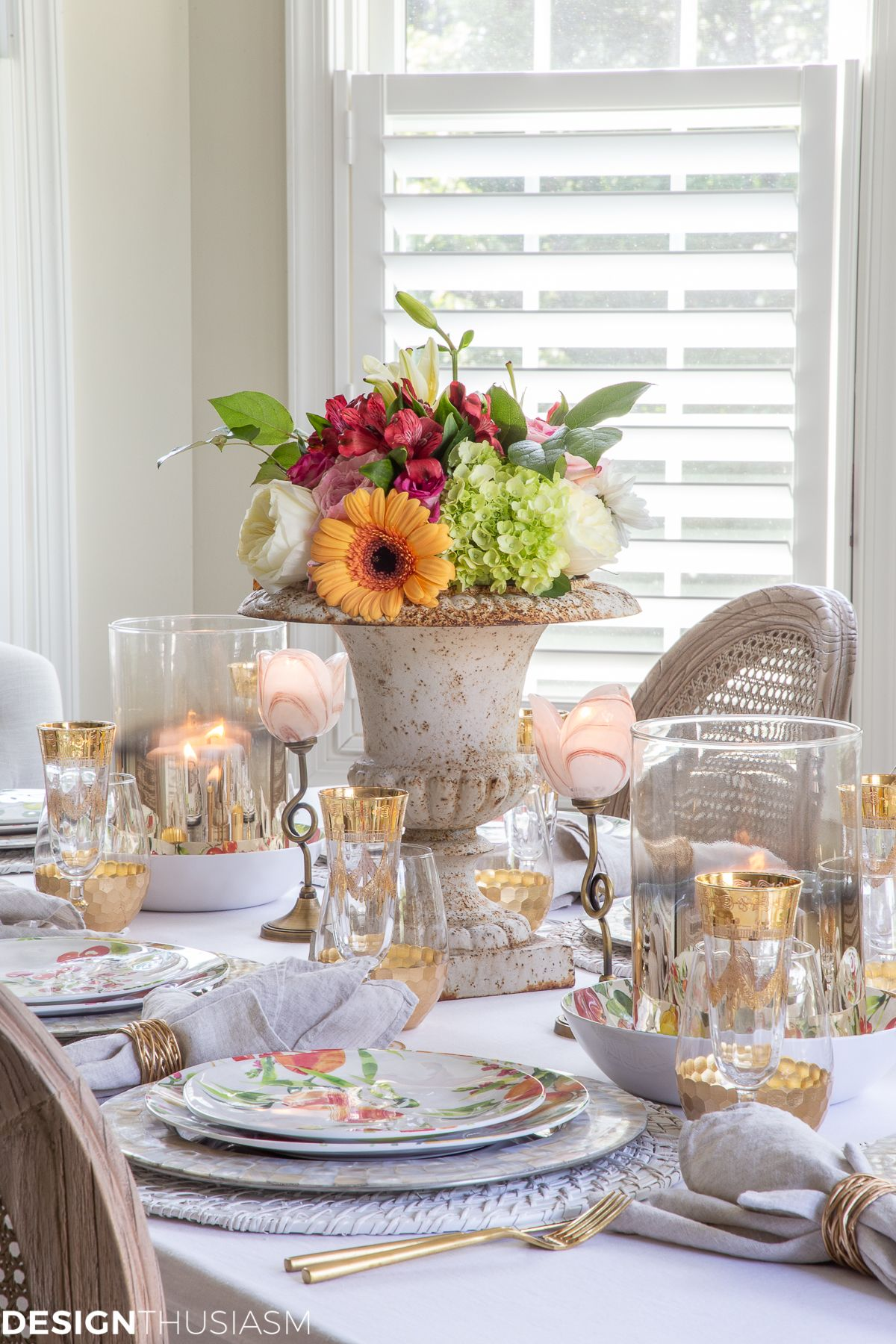 Insanely Gorgeous Informal Table Setting Ideas On A Budget Summer Table Decorations Table Settings Thanksgiving Table Settings