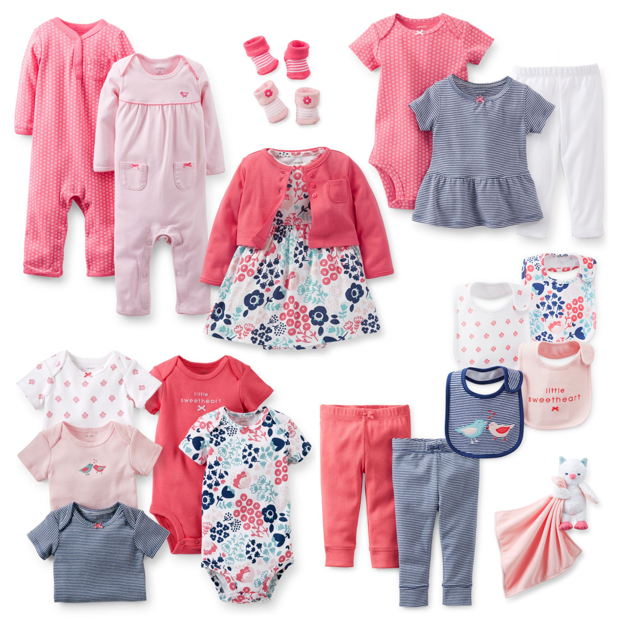 Precious Prints 8-Piece Gift Set  Baby girl outfits newborn