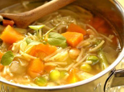 La sopa, esa delicia nutritiva.  Recetas light.