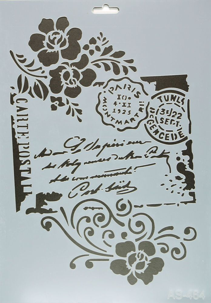Border Lace Stencil Vintage Template Card making Paint Home Decor Crafts Art BO4