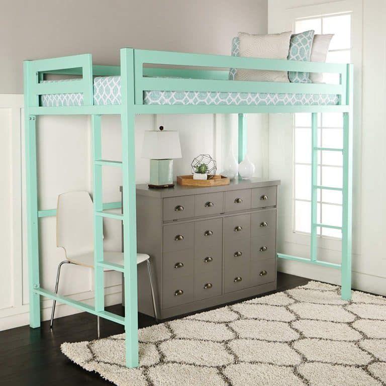 We Furniture Premium Loft Bed Twin Loft Bed Walker Edison Furniture Company Loft Bed