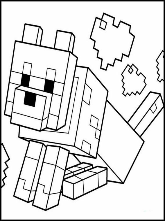 Malvorlagen Von Minecraft Minecraft Ausmalbilder Zum Ausdrucken 12 Herunterladen