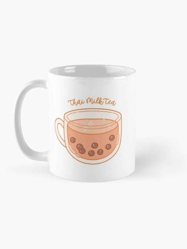 Thai Bubble Milk Tea Cup Mug By Noryushi Milk Tea Mugs Tea Cups
