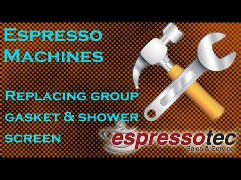 Changing a Group Gasket on a Rancilio Espresso Machine