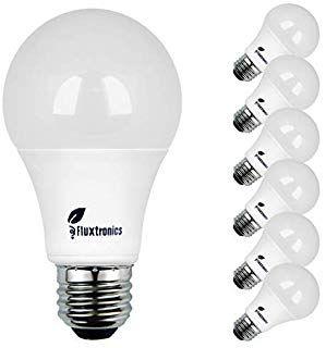 Fluxtronics A19 Led Light Bulbs 75 Watt 100 Watt