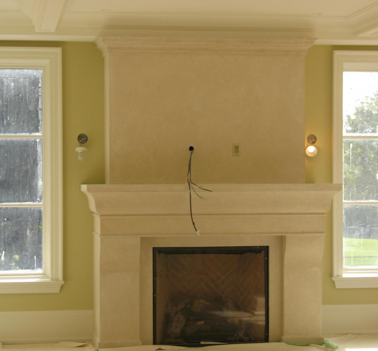 fireplace plaster design yahoo search results great