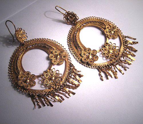 century-old slow earrings