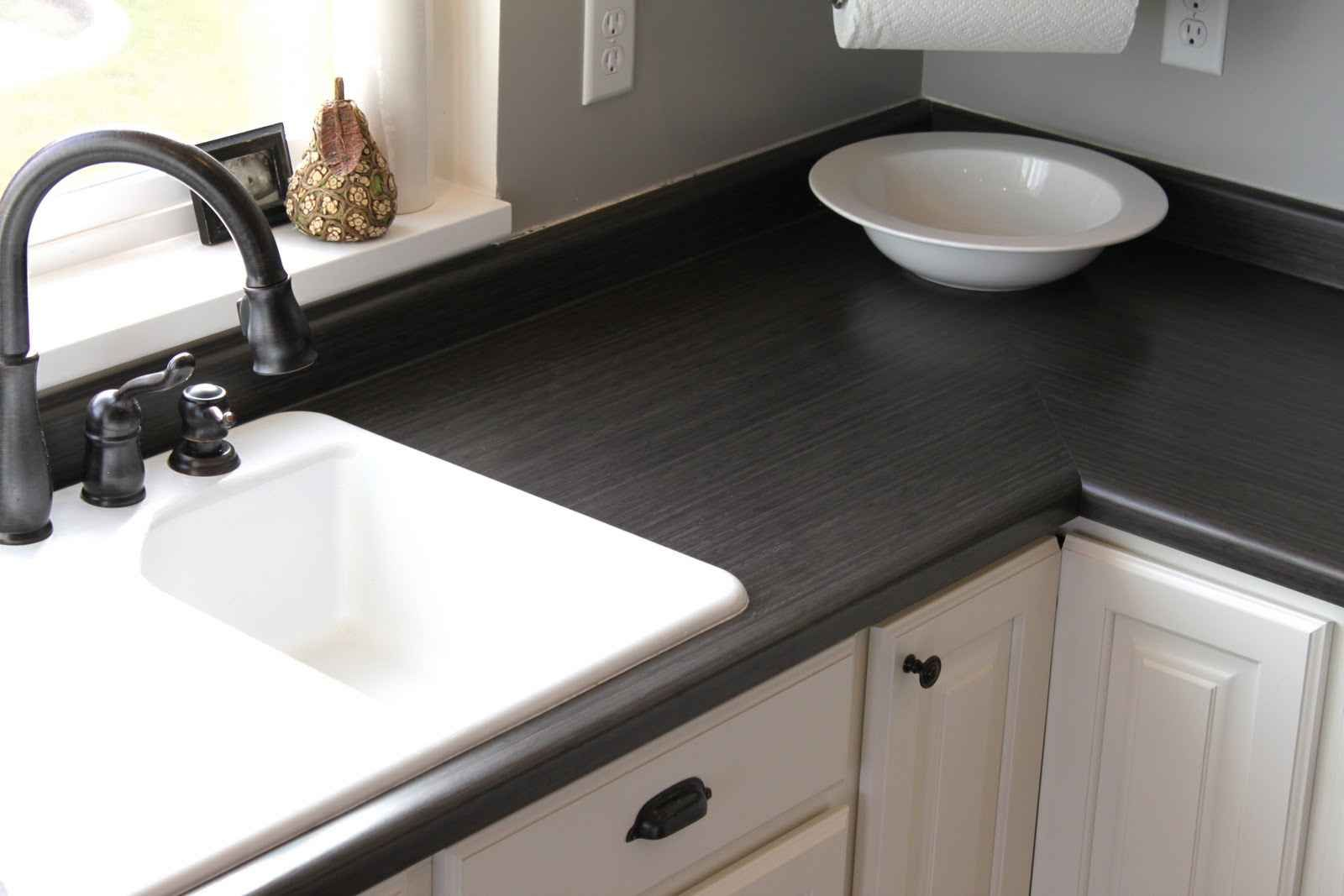 Asian Night Laminate Counter top | Inexpensive kitchen ...