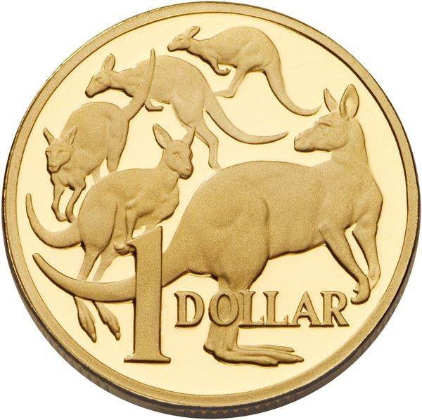 Australian One Dollar Coin Australia