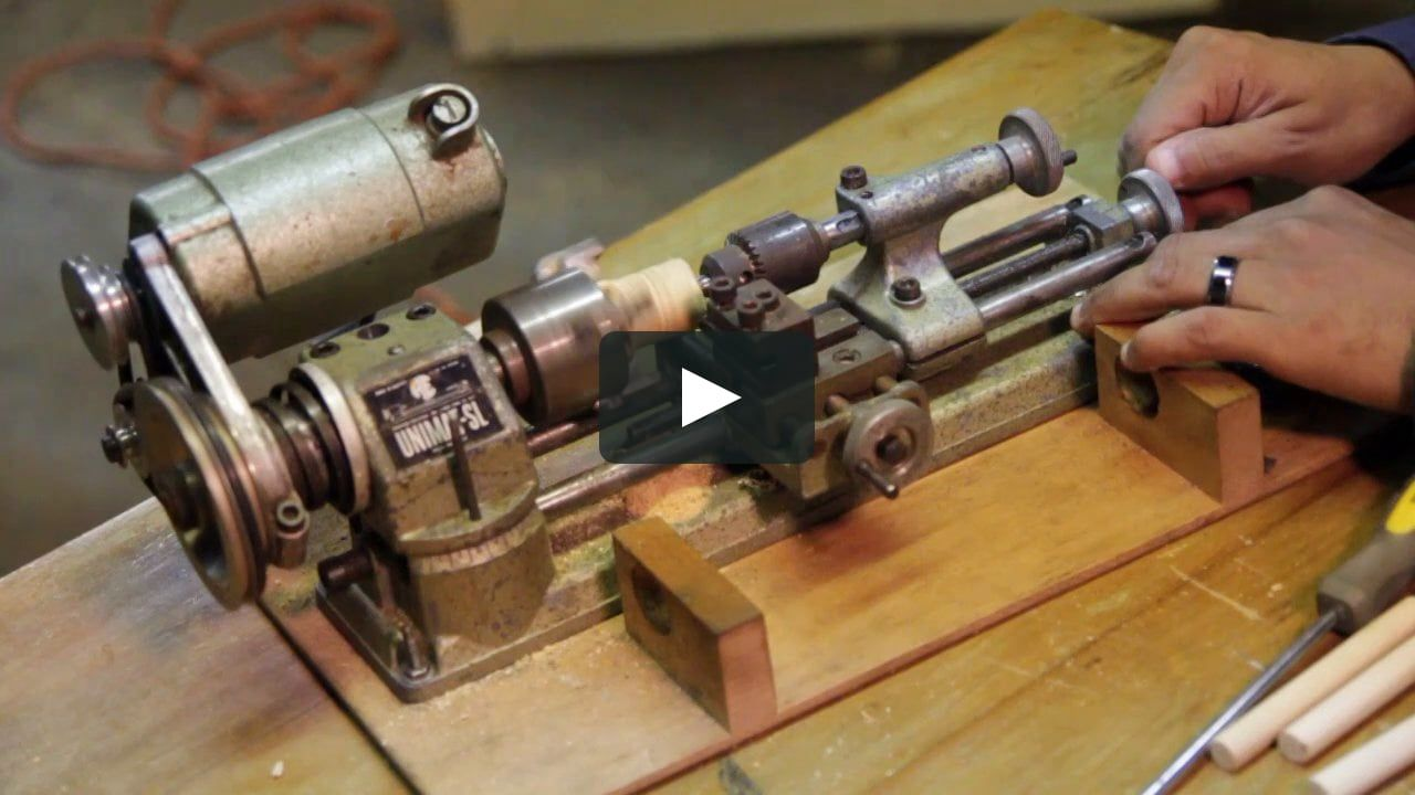 Unimat Demonstration Homemade Tools Metal Lathe Projects Machine Tools