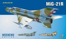 Eduard MiG-21R (1/48 ölçek)