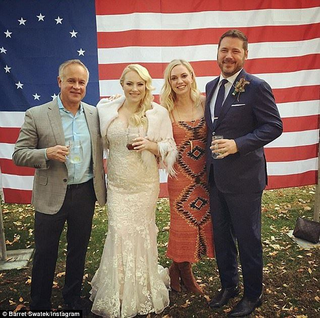 Bride S Father Died Before Her Wedding But Her Brother S: Inside The Fairytale Wedding Of Meghan McCain And Ben